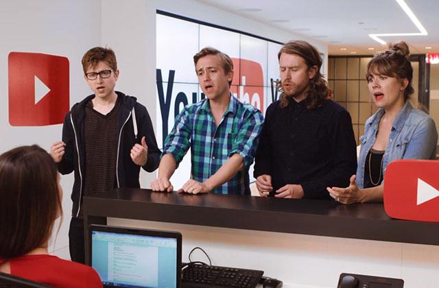 Le bureau des réclamations de YouTube… en vidéo