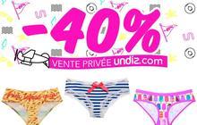 Undiz organise sa vente privée d'été !
