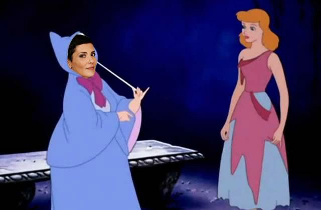 Et si Cristina Cordula était la marraine de Cendrillon ?