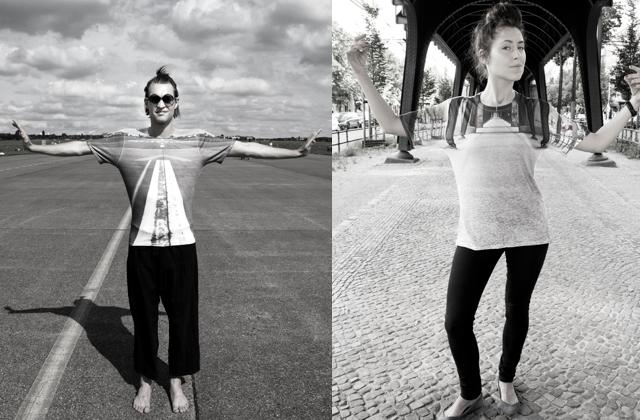 S.E.W.N Into The World, des t-shirts pour se fondre dans le paysage