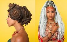 Les coiffures afro-punk immortalisées par Awol Erizku