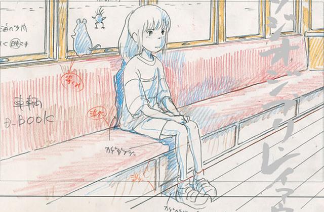 Les dessins des Studios Ghibli s'exposent au musée Art Ludique