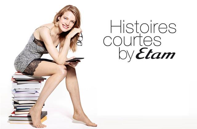 « Histoires Courtes by Etam », quand la lingerie et la littérature se rencontrent