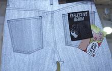 Les jeans réfléchissants de Naked & Famous Denim