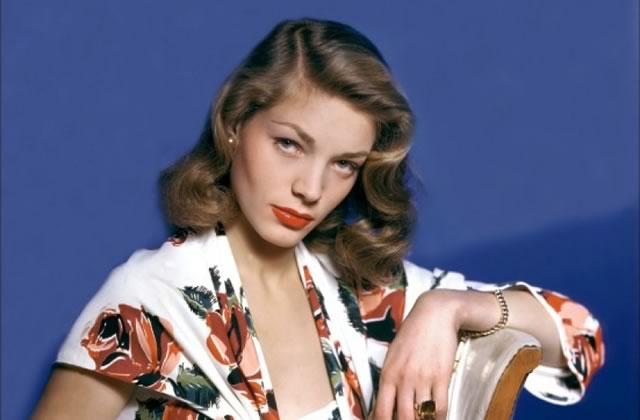 Lauren Bacall est décédée