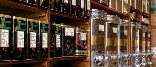 boutique de thé café