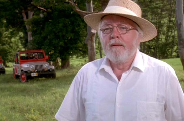 Richard Attenborough (John Hammond de Jurassic Park) est décédé