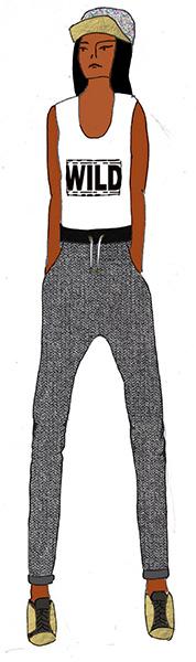 tendance sportswear-streetwear automne hiver 2014 2015