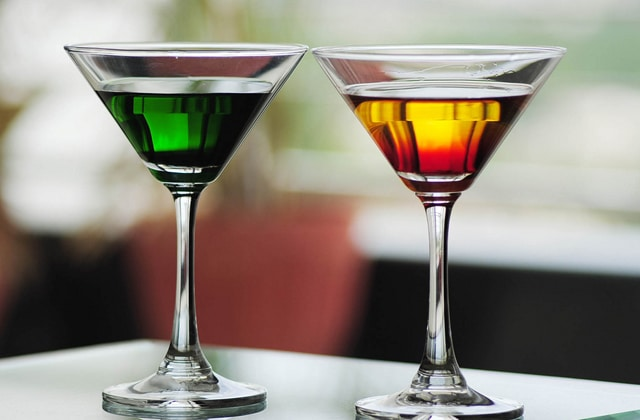 cocktails verre alcool