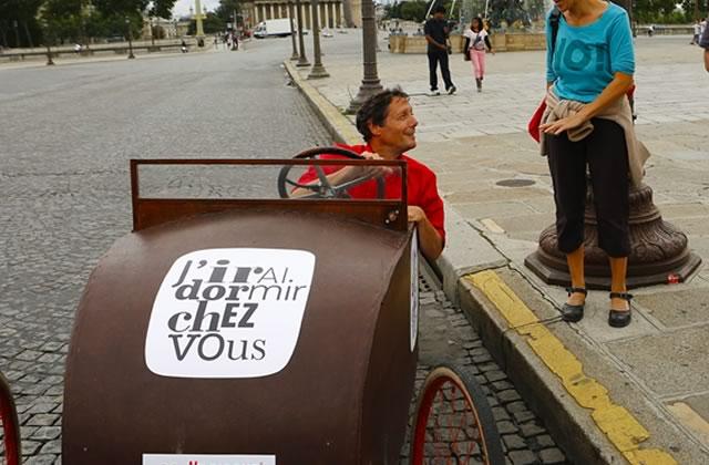 Antoine de Maximy en direct dans les rues de Paris le 8 octobre
