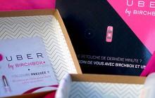 Birchbox et Uber s'associent pour une box en édition limitée