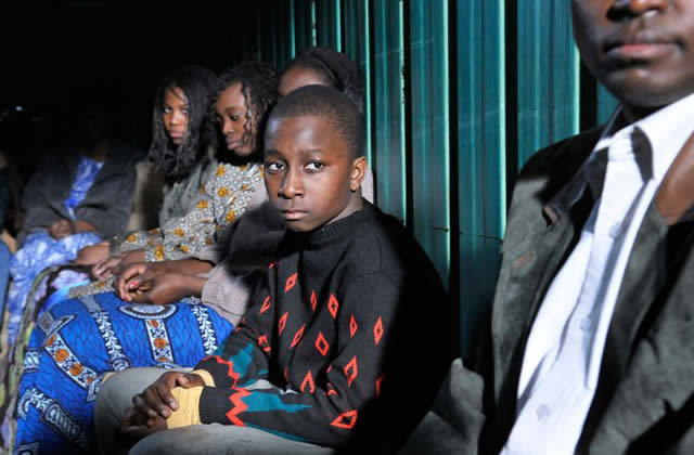 La situation difficile des immigrés africains en Israël — Carte postale