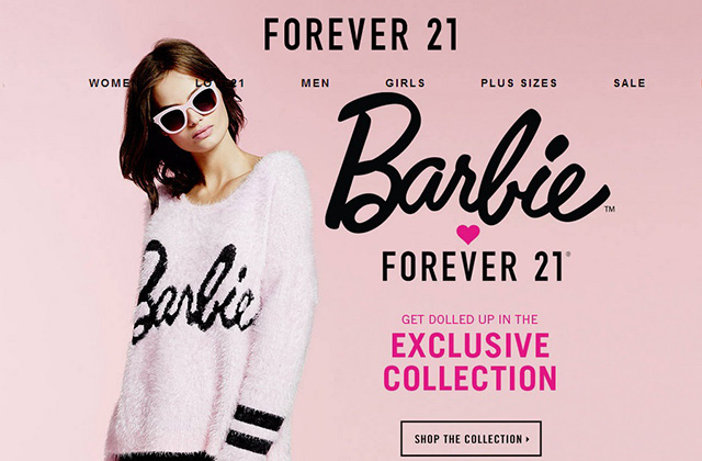 La collection Barbie par Forever21