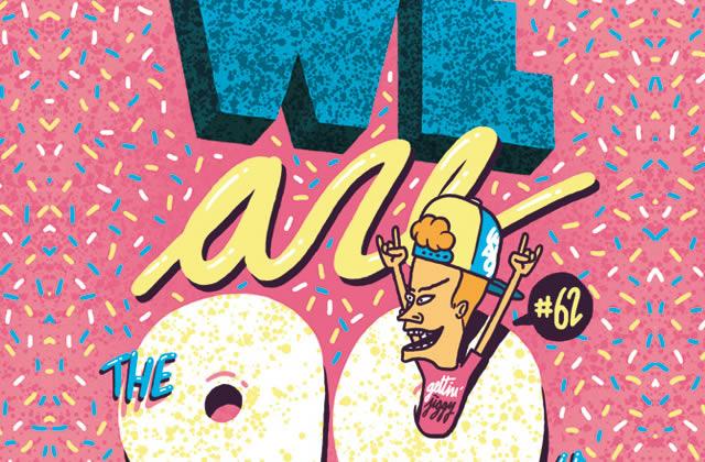 5×2 places à gagner pour la We Are The 90's du vendredi 3 octobre 2014 !