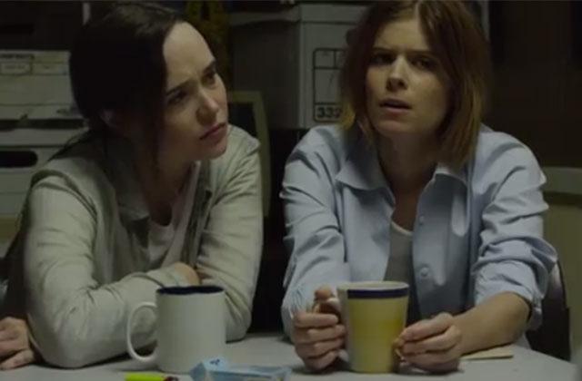 Ellen Page et Kate Mara dans Tiny Detectives
