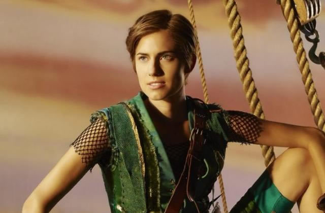 Allison Williams (Girls) dans le rôle de Peter Pan