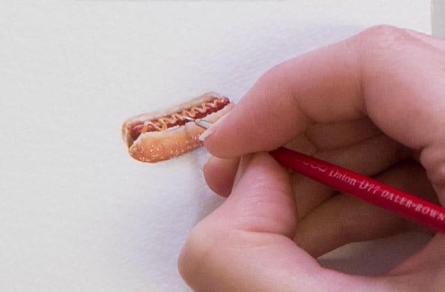 La réalisation d'une «Painting For Ants» dévoilée en vidéo