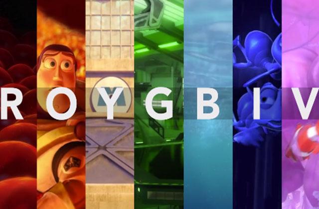 Les couleurs de Pixar mises en avant dans « ROYGBIV »
