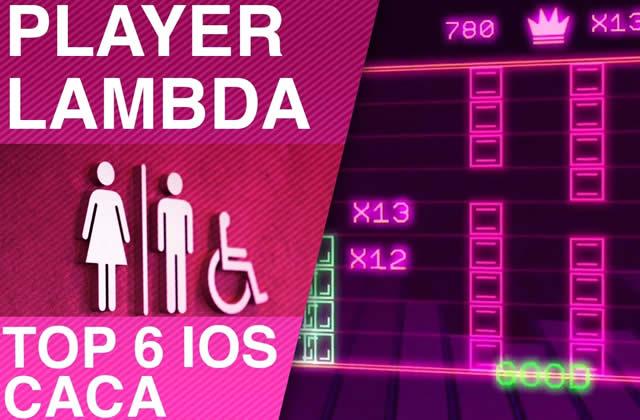 Des jeux iPhone pour faire caca – Player Lambda
