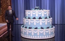 La surprise d'anniversaire géante de Jimmy Fallon