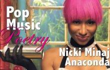 Anaconda de Nicki Minaj lu comme un poème