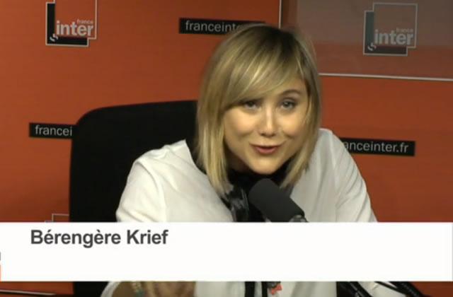 Bérengère Krief raconte sa journée inversée sur France Inter