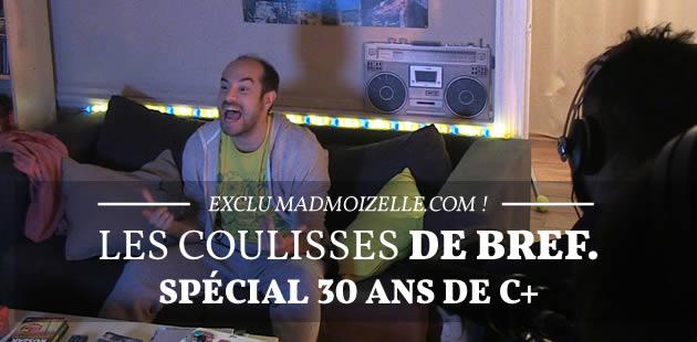 Bref. sort un épisode spécial pour les 30 ans de Canal+ : on a filmé les coulisses du tournage !