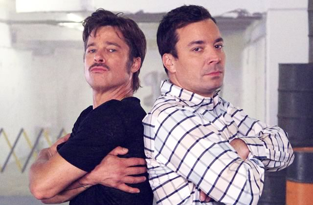 Brad Pitt et Jimmy Fallon font une battle de breakdance