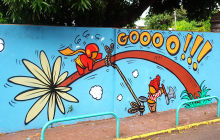 Carte postale de la Réunion #3: le street-art sur l'île