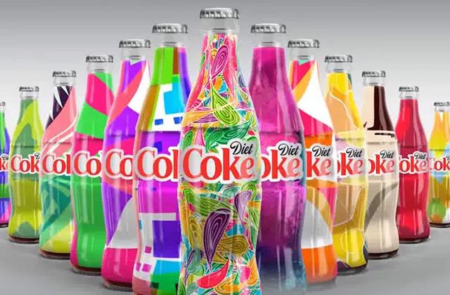 Coca-Cola Light sort des millions de bouteilles uniques