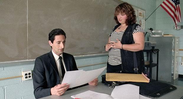 Adrien Brody, prof un poil dépressif dans «Detachment »