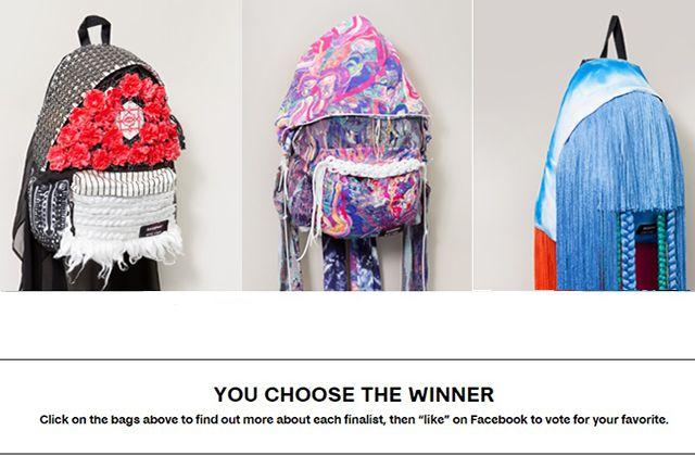 Eastpak dévoile les trois finalistes de son concours Artist Studio Wildcard