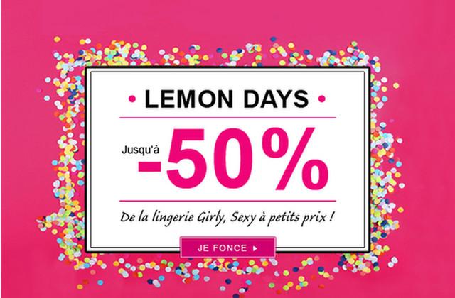 Lemon Curve lance les Lemon Days !