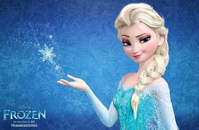 La Reine Des Neiges Inspire Une Robe De Mariee