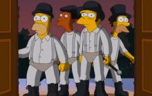 Les Simpson et leur couch gag spécial Kubrick pour Halloween
