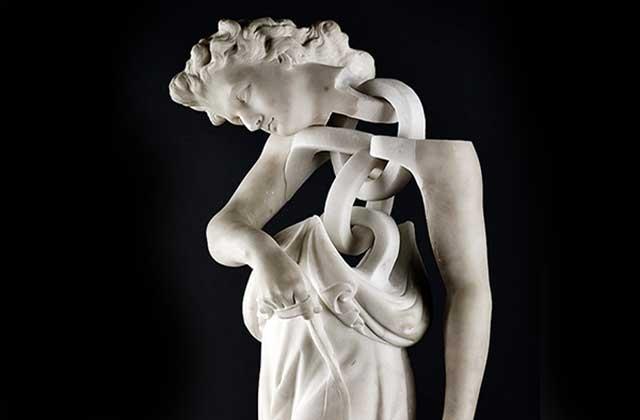 Les statues en marbre déstructurées de Jonathan Owen