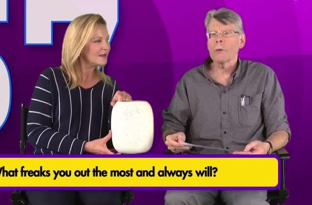 Stephen King (et Joan Allen) parle de ce qui lui fait peur