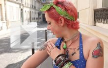 Street Tattoos – Carole et ses insectes !