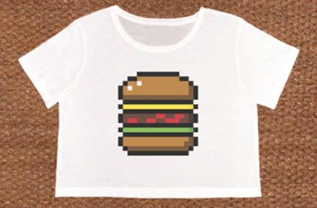 Bricktown et ses t-shirts aux imprimés 8-bits