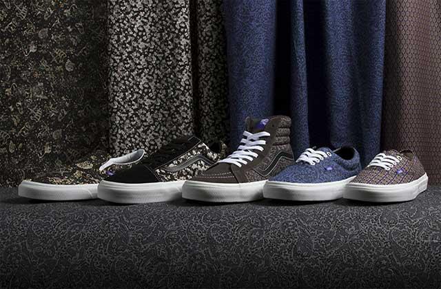 La nouvelle collection Vans x Liberty Art Fabric