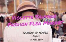 Le vide-dressing Violette Sauvage : rdv le 17 et 18 octobre