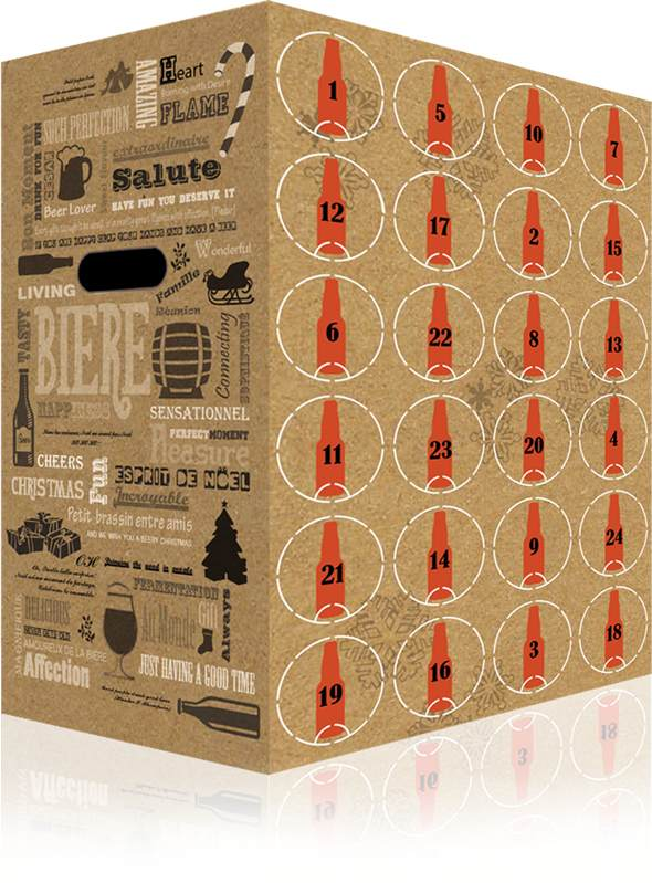 Calendrier De L Avent Bieres.Beery Christmas Le Calendrier De L Avent Des Bieres