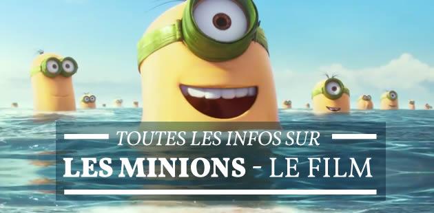 Les Minions, le film, a un nouveau trailer !