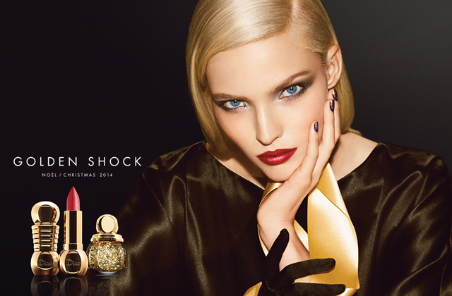 Golden Shock, la collection de maquillage de Dior pour Noël 2014