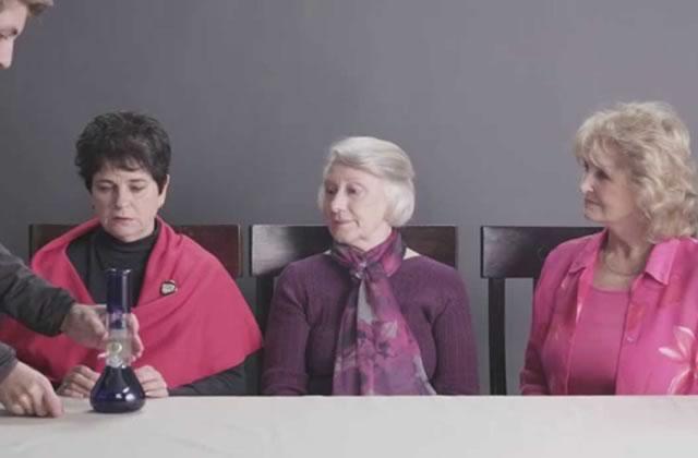 Des grands-mères fument du cannabis pour la première fois