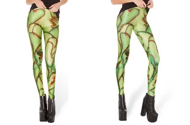 Le legging imprimé «peau du monstre de Frankenstein » de BlackMilk — WTF Mode