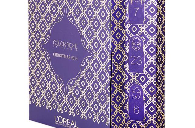 L'Oréal Paris sort un calendrier de l'Avent spécial vernis !