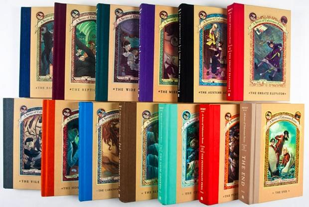 orphelins-baudelaire-livres