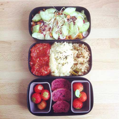 recette lunchbox