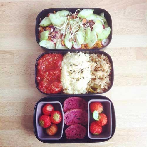 recette lunchbox